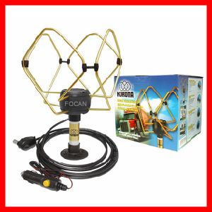 High Quality European, Russian DVB-T TV Antenna Korona Ts Extra 12/24V for Truck, Heavy Goods Vehicals, Car, Boats etc. pictures & photos