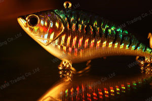 Fishing Lure--75mm 14G Sinking Vib with 3D Eyes (HMAP75) pictures & photos
