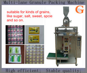 Multi-Lane 4 Sides Sealing Grains Packing Machine (SUGAR; SALT) pictures & photos