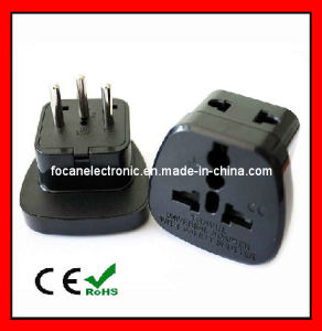 Universal 2 in 1 Plug Adapter with Safety Shutter for Switzerland pictures & photos