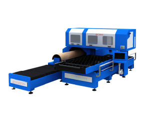 2017 Gyc Factory Produce 1000W/1500W/2000W Combo Laser Die Cutting Machine pictures & photos