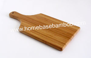 Paddle Bamboo Chopping Cutting Board Hb-2234 pictures & photos