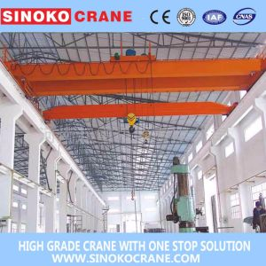 Lh Remote Control Hoist Trolley Traveling Double Girder Overhead Crane pictures & photos