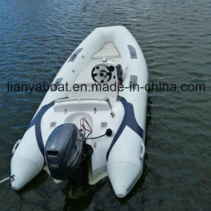 Liya 3.8m Small Fashion Inflatable Rib Boat FRP Inflatable Rubber Boat pictures & photos