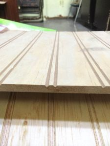 Groove Pine Plywood 9mm 12mm 15mm 18mm pictures & photos