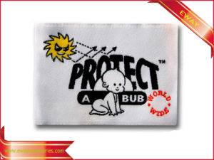 Baby Clothing Label Soft Woven Fabric Label for Children pictures & photos