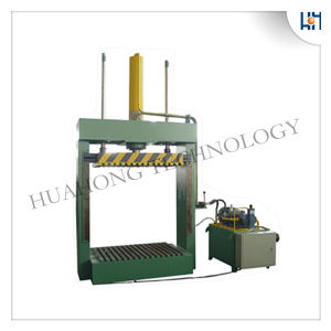 Hydraulic Cloth Sacks Vertical Baler Machine pictures & photos