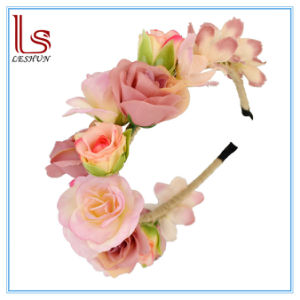 Fashion Bridal Flower Rose Hair Accessories pictures & photos
