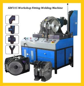 Sdf315 Buttwelding Fittings Fabrication Machine pictures & photos