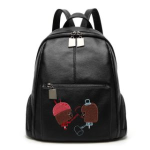Fashion Women Backpacks Handbags Leisure PU Leather Ladies pictures & photos