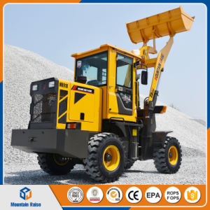New Design Small High Quality Articulated Mini Wheel Loader 1.2ton pictures & photos
