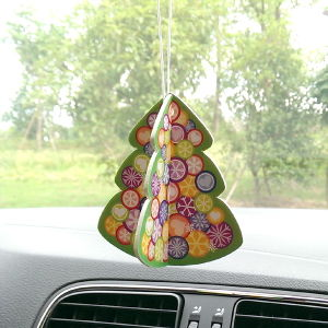 Novelty 3D Christmas Tree Air Freshener