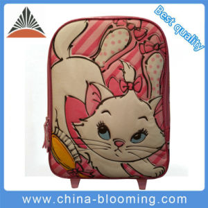 Children Kids Rolling Wheeled Trolley Back to School Backpack Bag pictures & photos