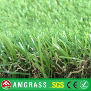 Golden Manufacturer High Quality U Shape Artificial Grass / Synthetic Grass for Garden Landscaping pictures & photos