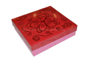 Elegant Rigid Paper Gift Box / Cardboard Box with Hotstamp