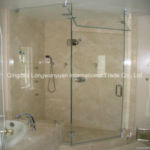 Low-E Tempered Glass Plate for Sanitory Shower Room (LWY-TG38)