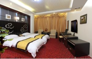 Hotel Furniture/Luxury Double Hotel Bedroom Furniture/Standard Hotel Double Bedroom Suite/Double Hospitality Guest Room Furniture (CHN-009) pictures & photos