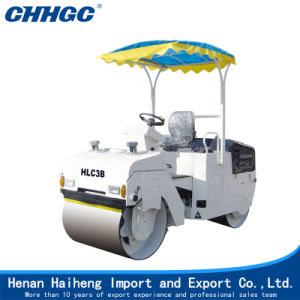 3 Tons Hydraulic Small Tandem Vibration Road Roller pictures & photos