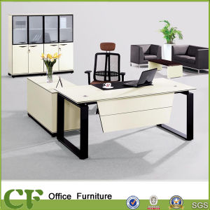 Wholesale Metal Frame Modern Office Executive Table Pictures pictures & photos