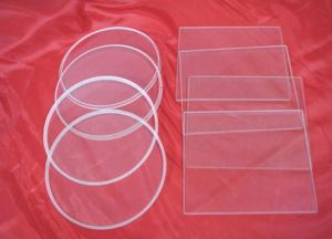 Borosilicate Glass Sheet, Flat Shape Pyrex Glass, Heat Resistant Sight Glass pictures & photos