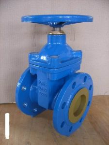 Carbon Steel Body Non-Rising Stem Gate Valve pictures & photos