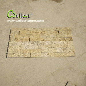 Ql-033 Tiger Skin Natural Quartzite Wall Cladding Tile for Decoration pictures & photos