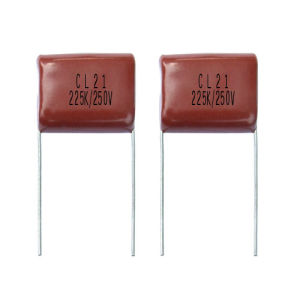 Polyester Film Capacitor Mef Cl21 pictures & photos