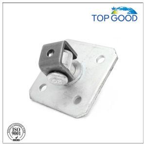 Steel with Plate Short Thread Fence Door Hinge (90200.1) pictures & photos