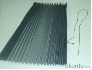 Polyester Quality Pleated/ Plisse Mesh pictures & photos
