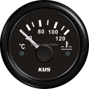 "Popular 2"" 52mm Water Temp Gauge Meter with Temp Sensor 12V 24V with Backlight pictures & photos"