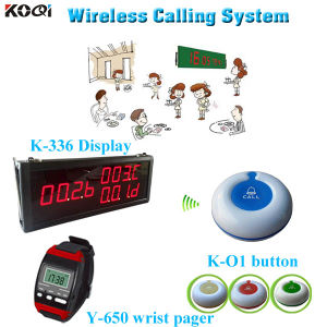 International Warranty Long Distance Transmitter Wireless K-336+Y-650+O1-W Restaurant Wireless Ordering System pictures & photos