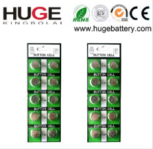 3V Cr2016 Non-Charge Button Cell Battery (CR2016) pictures & photos