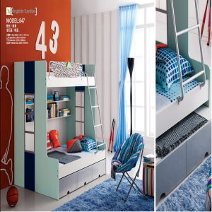 847 MDF Bedroom Children Furniture (847)