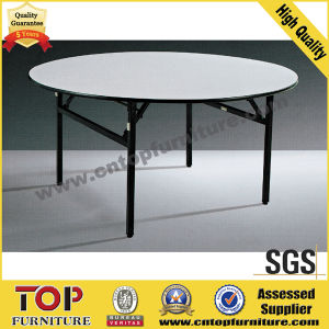 Hotel Banquet Plywood with PVC Table pictures & photos