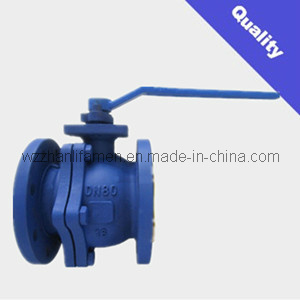 DIN Cast Steel 2-PC Ball Valve Q41f