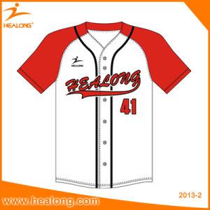 Healong Custom Youth Any Color Baseball Shirts Softball Baseball Jerseys pictures & photos
