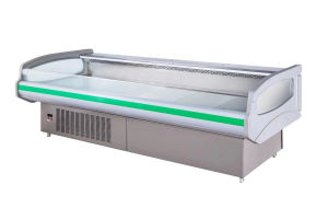 2.5m Commercial Chest Showcase Chiller for Food Service pictures & photos