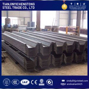 Sy295 JIS Standard Steel Sheet Pile 400X170X16mm pictures & photos