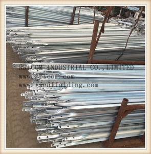 Glavanized Scaffolding Angle Iron Cross Braces pictures & photos