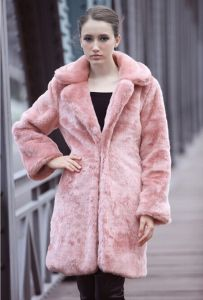 Faux Fur Coat Thick Winter Outwear New Fashion Luxury Brand Lady′s Suit Greatcoat Solid Long Sleeve Women′s Overcoat Abrigo pictures & photos