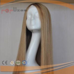100% Human Hair Blonde Color Front Lace Wig for Women pictures & photos