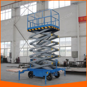 Vertical Mobile Building Cleaning Scissor Elevator with Ce Certificate pictures & photos
