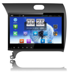 "10.1"" Big Screen Android 4.4 Car GPS Navigation for KIA K3 with 1024 * 600 Resolution and DVR Camera Input"