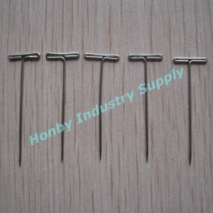Wholesale 32mm Nickel Plated T Head Wig Pin