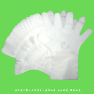 Disposable TPE Elastic Gloves pictures & photos