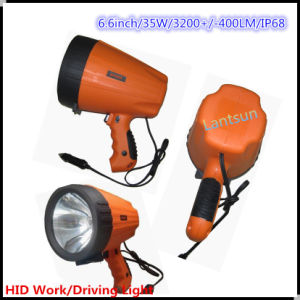 Green/Red 35W Search Light 9-32V Portable 6inchinternal Slim Ballast System HID Xenon Work Light off Road Light Spot Beam Long Range pictures & photos