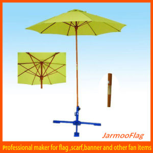 Portable Garden Wooden Umbrella Parasol pictures & photos