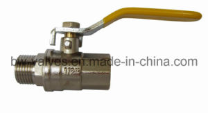 Brass Gas Ball Valve (BW-B144 FxM) pictures & photos