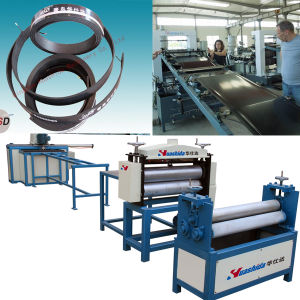 PE Thermo Melt Tape Sleeve Production Machine pictures & photos