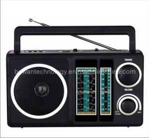 FM/TV/AM/SW1-9 12 Band Radio Receiver MP3 Player (BW-F902U)